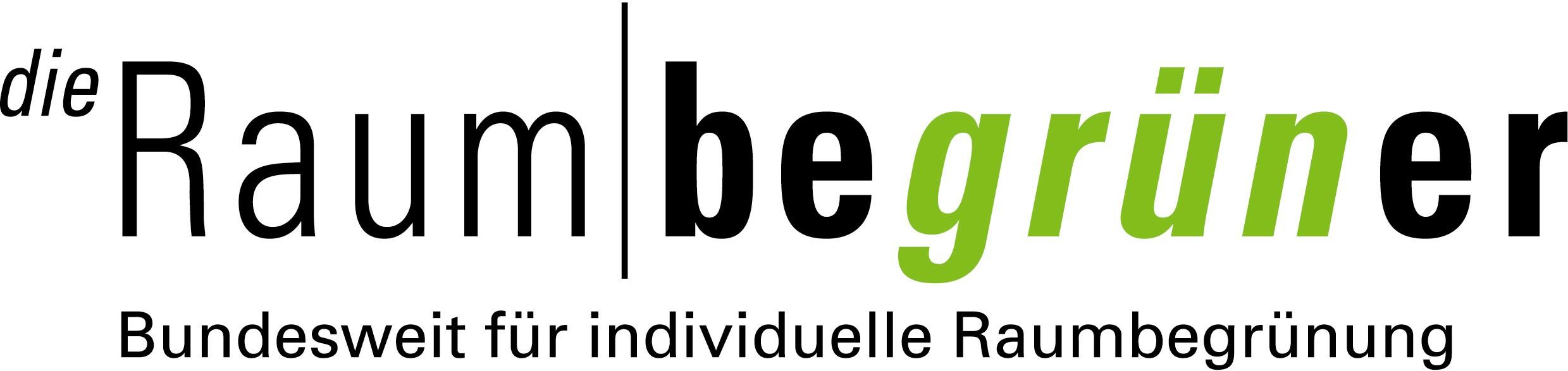 Logo 'die Raumbegrüner' - Bundesweite Raumbegrünung