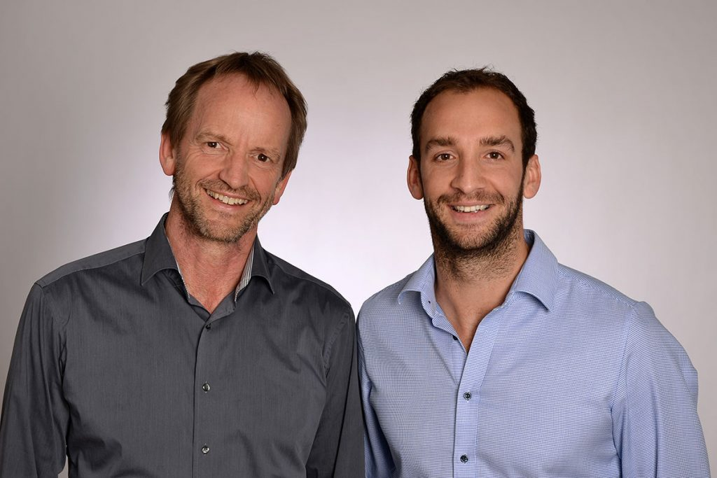 Lutz-Peter und Arne Kremkau