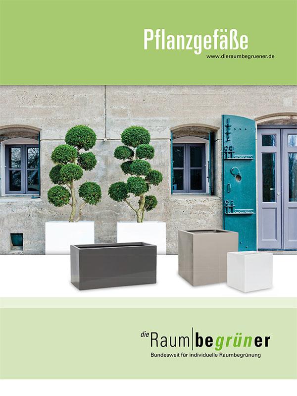 Coverbild Pflanzgefäße-Katalog